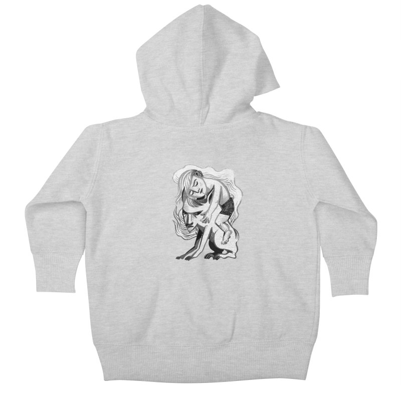 Hug Kids Baby Zip-Up Hoody by michaeljhildebrand's Artist Shop