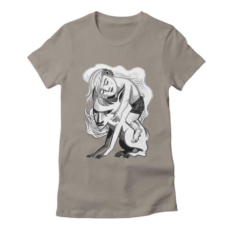 Hug Women's Fitted T-Shirt by michaeljhildebrand's Artist Shop
