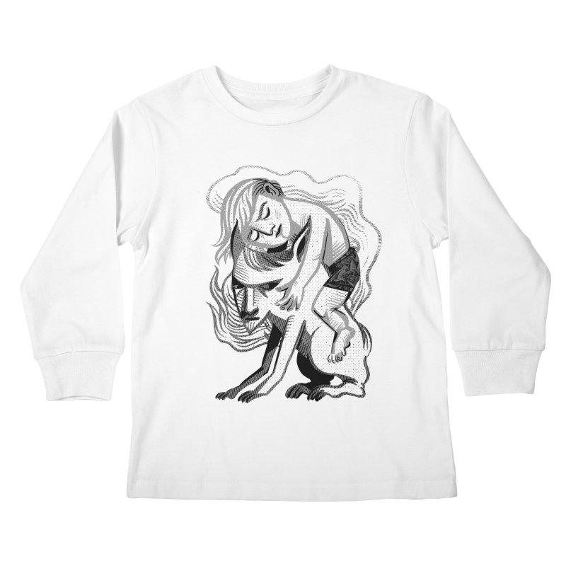 Hug Kids Longsleeve T-Shirt by michaeljhildebrand's Artist Shop