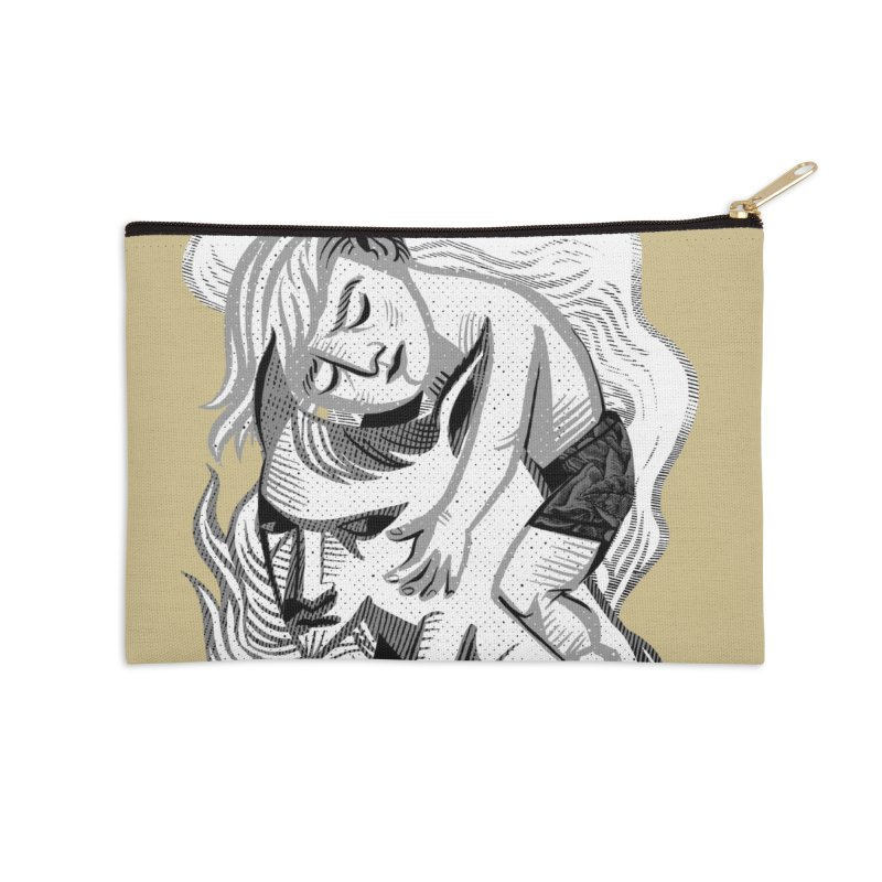 Hug Accessories Zip Pouch by Michael J Hildebrand's Artist Shop