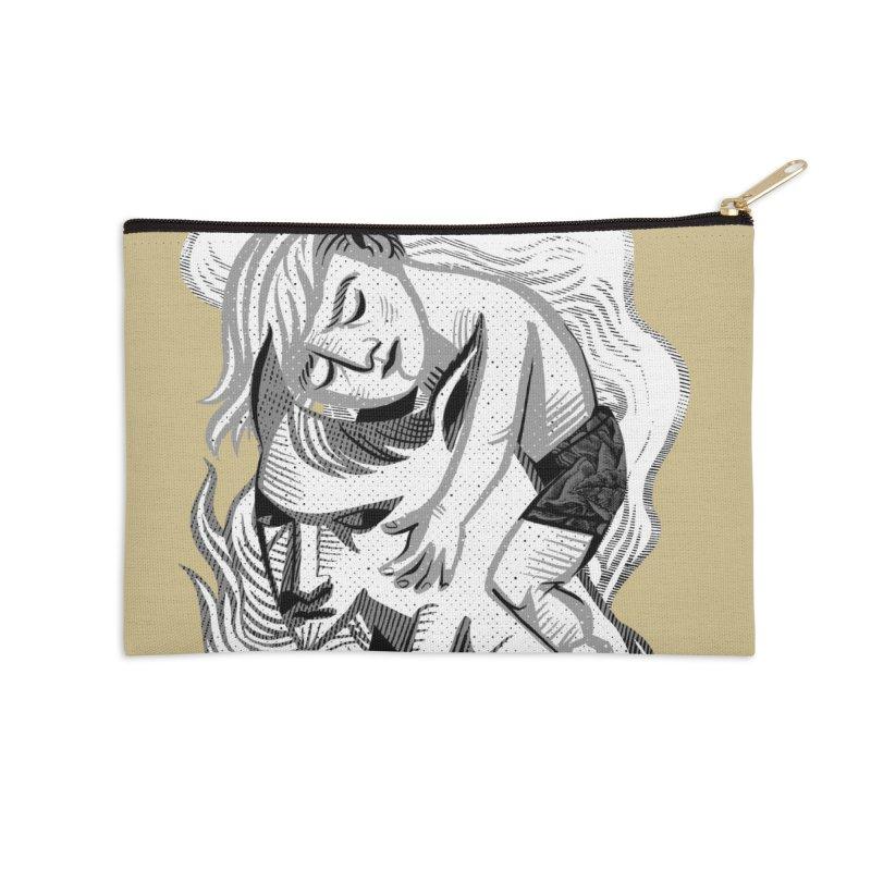 Hug Accessories Zip Pouch by michaeljhildebrand's Artist Shop