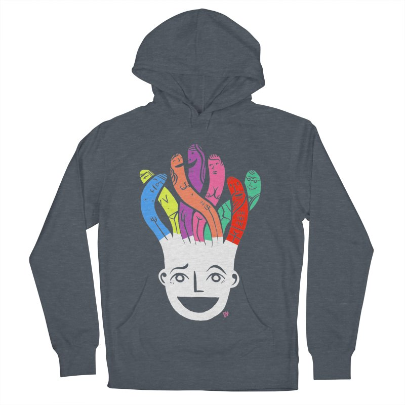 "DrawingPride No.1 ""Community"" Women's French Terry Pullover Hoody by michaeljhildebrand's Artist Shop"
