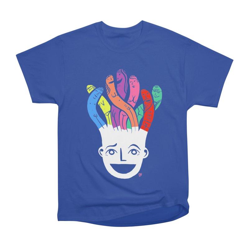 "DrawingPride No.1 ""Community"" Men's Heavyweight T-Shirt by Michael J Hildebrand's Artist Shop"
