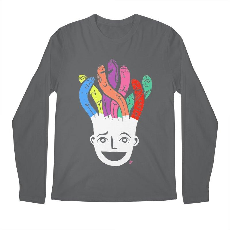 "DrawingPride No.1 ""Community"" Men's Longsleeve T-Shirt by michaeljhildebrand's Artist Shop"
