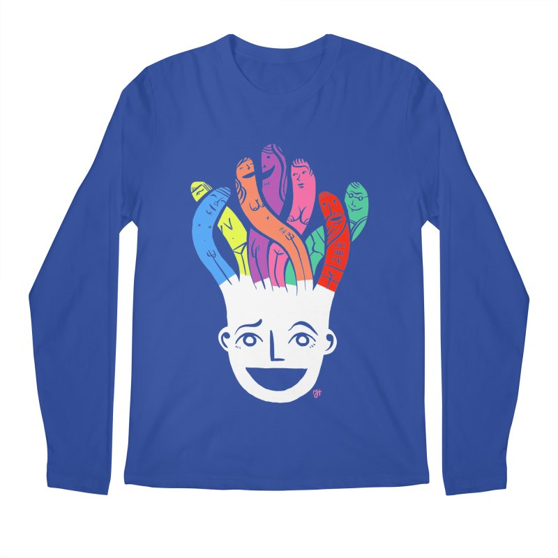 "DrawingPride No.1 ""Community"" Men's Regular Longsleeve T-Shirt by Michael J Hildebrand's Artist Shop"