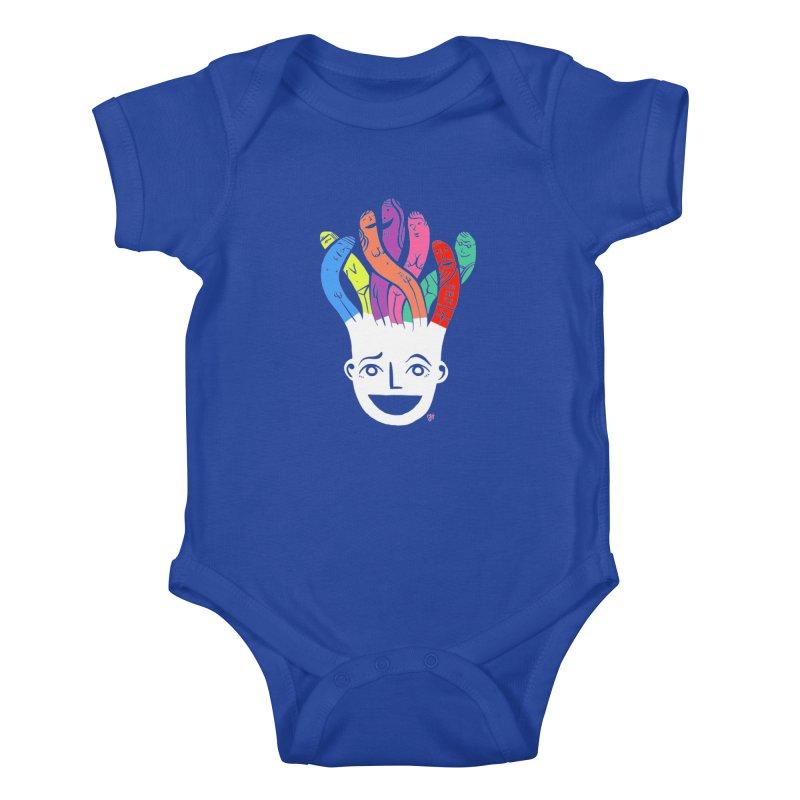 "DrawingPride No.1 ""Community"" Kids Baby Bodysuit by Michael J Hildebrand's Artist Shop"