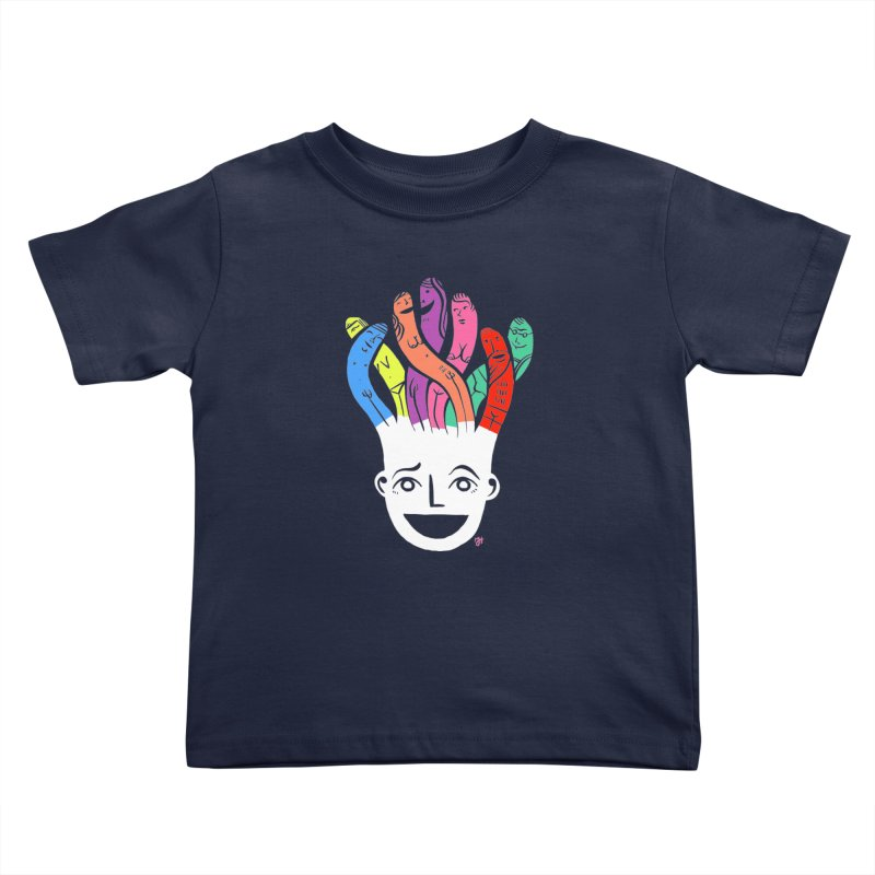 "DrawingPride No.1 ""Community"" Kids Toddler T-Shirt by Michael J Hildebrand's Artist Shop"