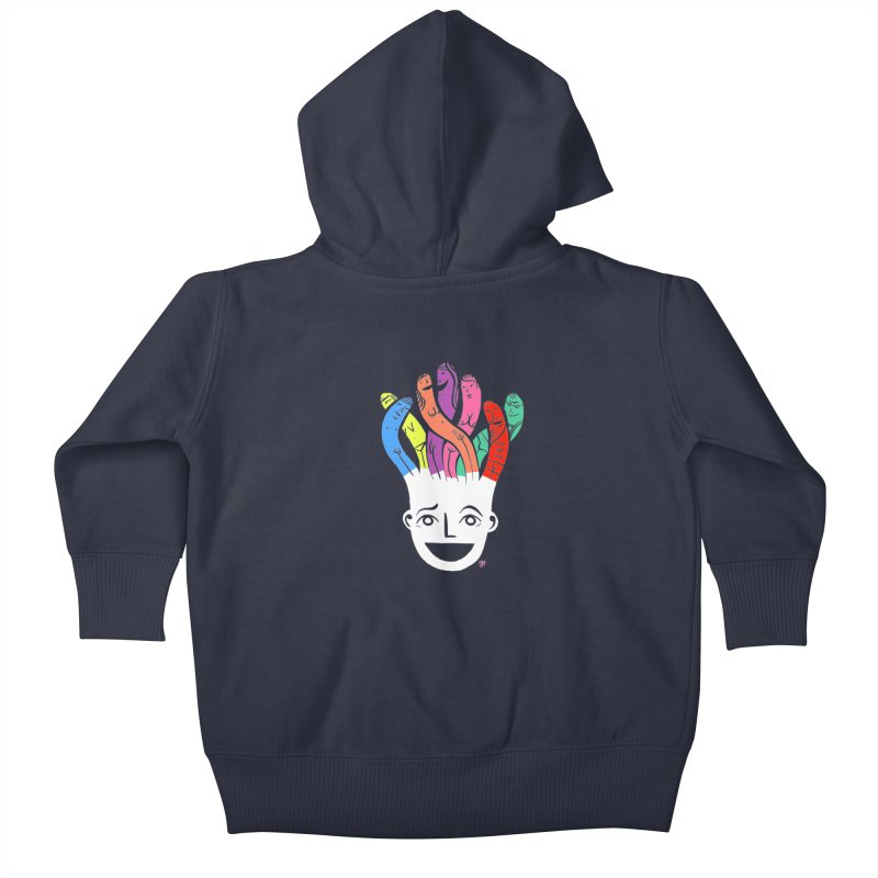 "DrawingPride No.1 ""Community"" Kids Baby Zip-Up Hoody by michaeljhildebrand's Artist Shop"