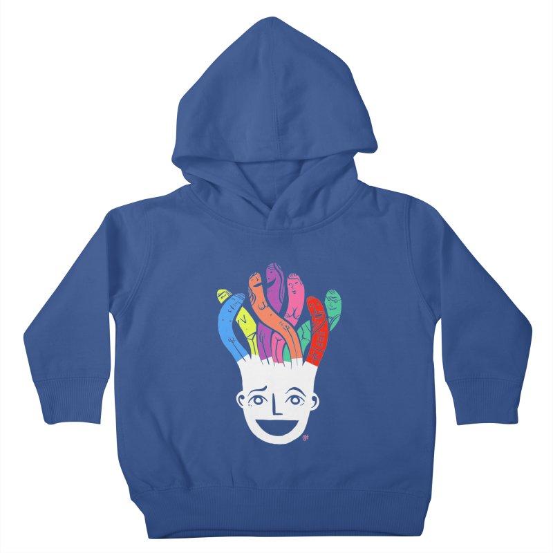 "DrawingPride No.1 ""Community"" Kids Toddler Pullover Hoody by Michael J Hildebrand's Artist Shop"