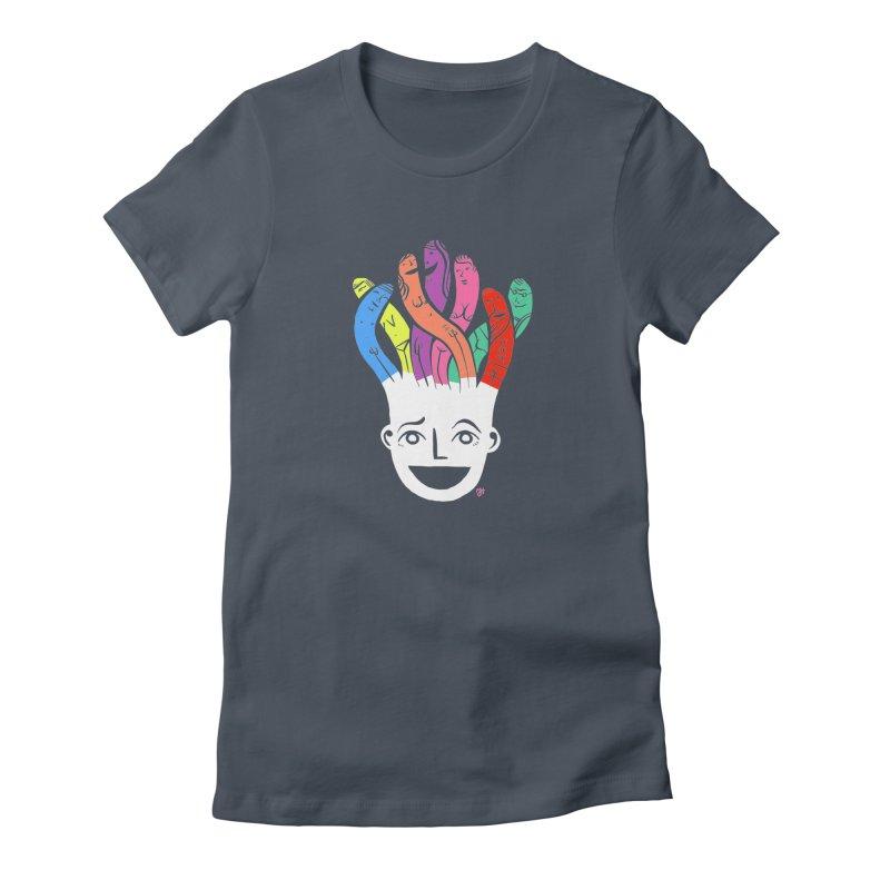 "DrawingPride No.1 ""Community"" Women's T-Shirt by Michael J Hildebrand's Artist Shop"