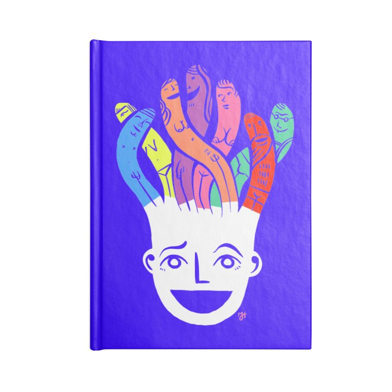 "DrawingPride No.1 ""Community"" Accessories Notebook by michaeljhildebrand's Artist Shop"