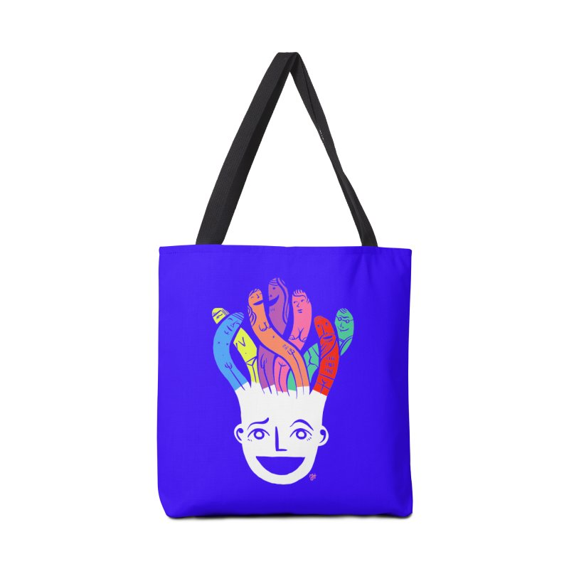 "DrawingPride No.1 ""Community"" Accessories Tote Bag Bag by Michael J Hildebrand's Artist Shop"