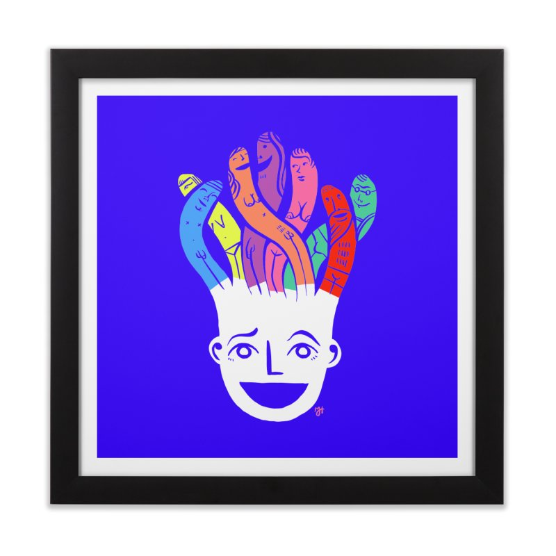 "DrawingPride No.1 ""Community"" Home Framed Fine Art Print by michaeljhildebrand's Artist Shop"