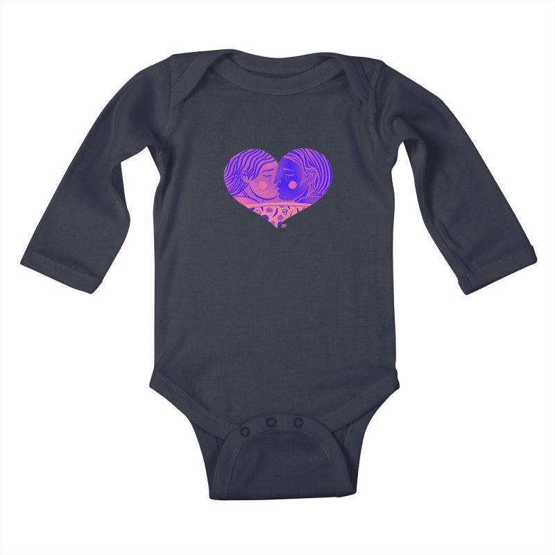 DrawingPride No.7: Love Kids Baby Longsleeve Bodysuit by michaeljhildebrand's Artist Shop