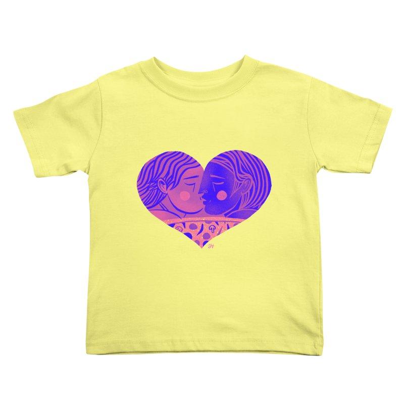 DrawingPride No.7: Love Kids Toddler T-Shirt by Michael J Hildebrand's Artist Shop
