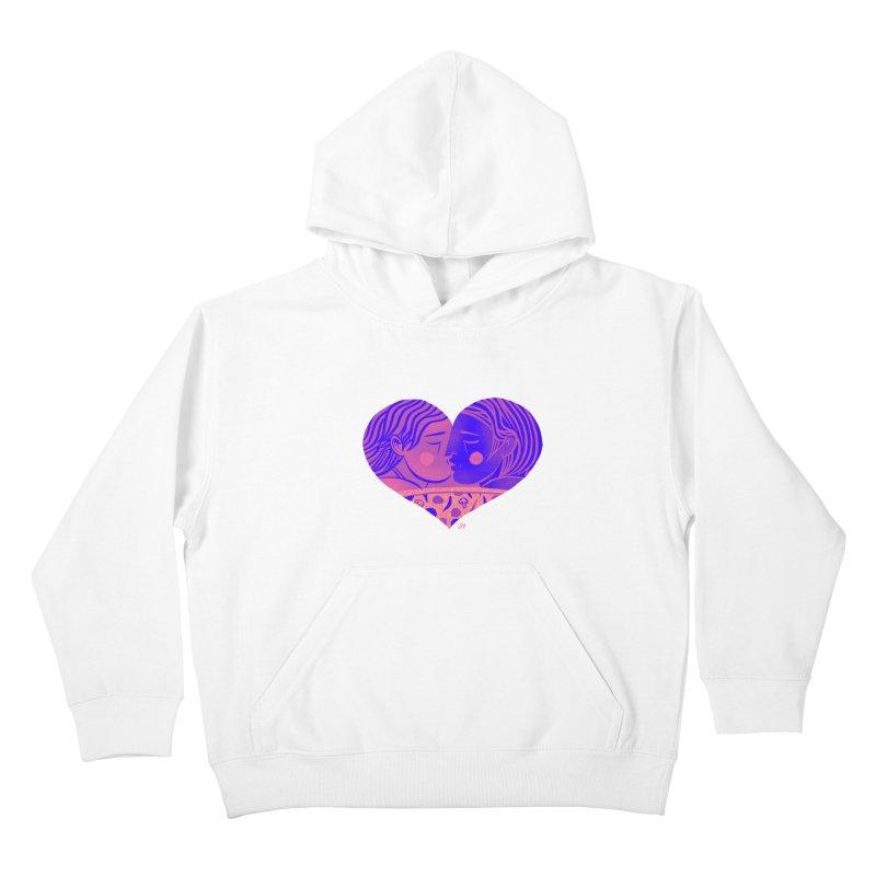 DrawingPride No.7: Love Kids Pullover Hoody by Michael J Hildebrand's Artist Shop