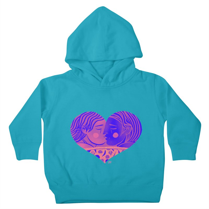 DrawingPride No.7: Love Kids Toddler Pullover Hoody by Michael J Hildebrand's Artist Shop