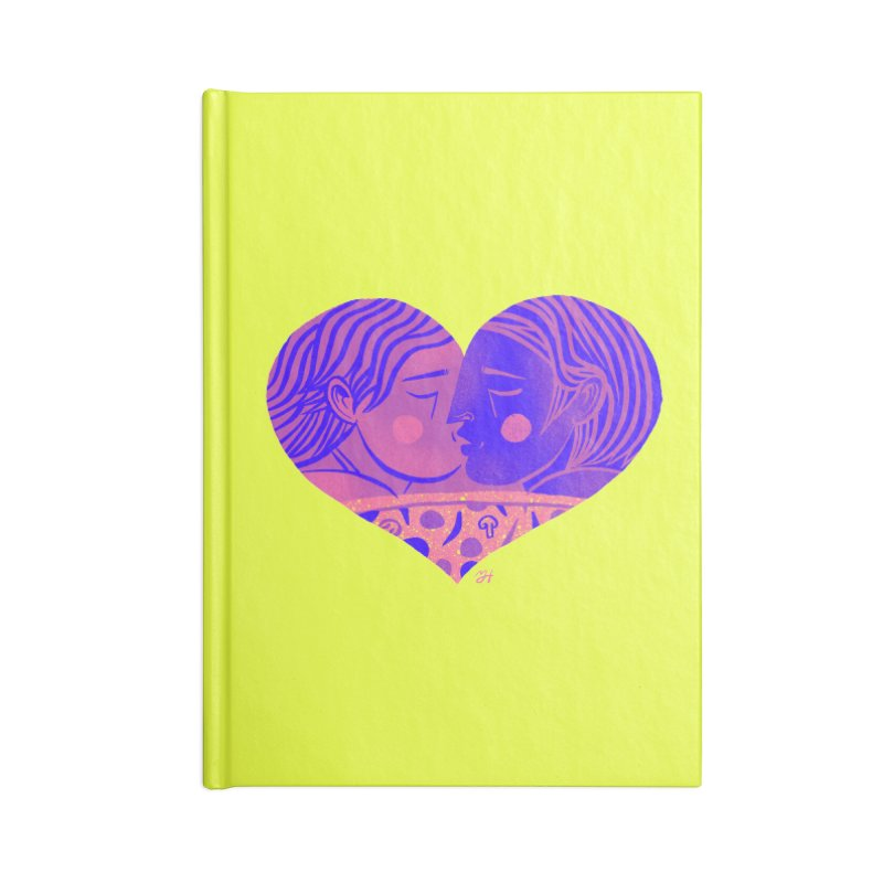 DrawingPride No.7: Love Accessories Notebook by michaeljhildebrand's Artist Shop