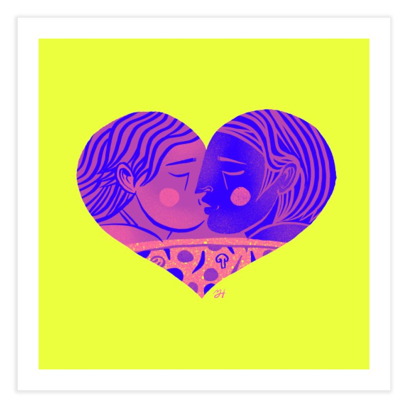 DrawingPride No.7: Love Home Fine Art Print by Michael J Hildebrand's Artist Shop