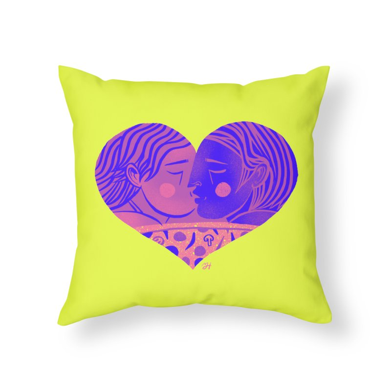 DrawingPride No.7: Love Home Throw Pillow by michaeljhildebrand's Artist Shop