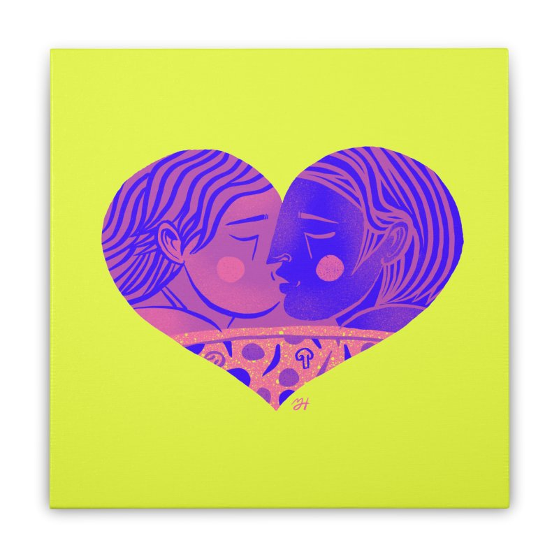 DrawingPride No.7: Love Home Stretched Canvas by michaeljhildebrand's Artist Shop