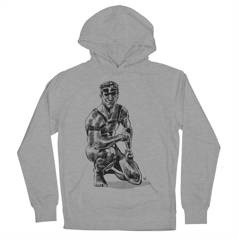 DrawingPride No.8: Leather Men's Pullover Hoody by michaeljhildebrand's Artist Shop