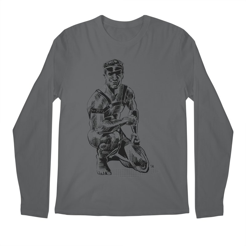 DrawingPride No.8: Leather Men's Longsleeve T-Shirt by michaeljhildebrand's Artist Shop