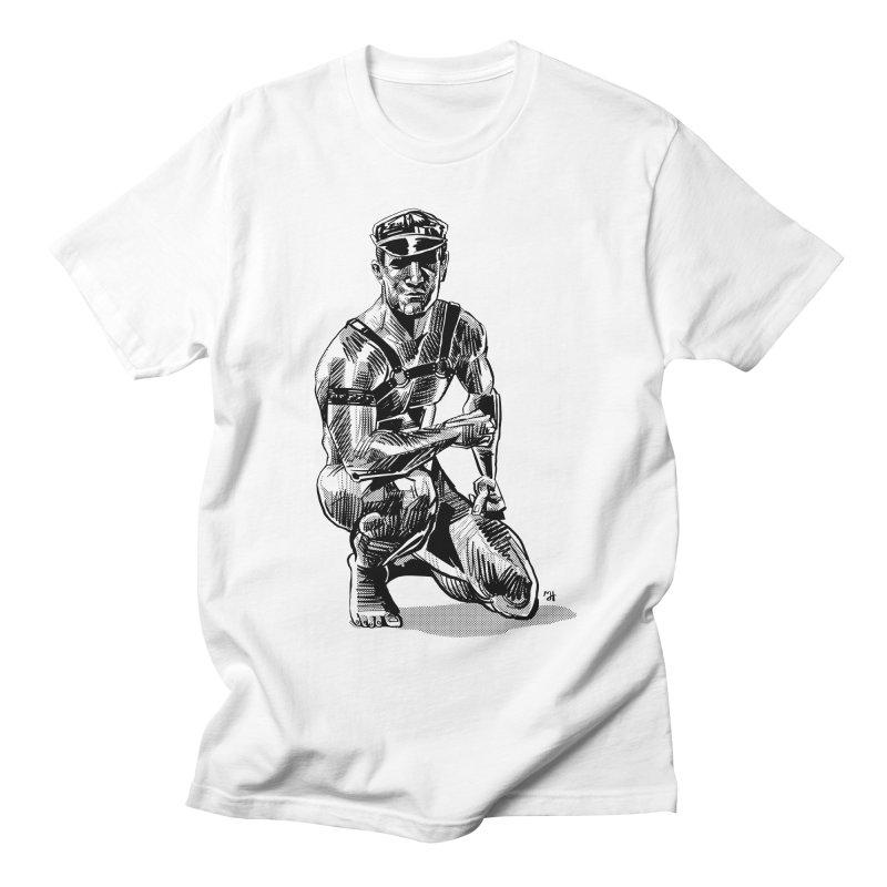 DrawingPride No.8: Leather Women's Regular Unisex T-Shirt by michaeljhildebrand's Artist Shop