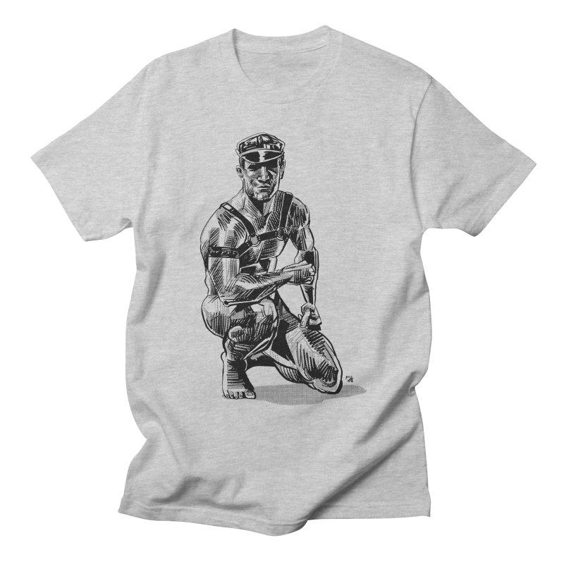 DrawingPride No.8: Leather Men's Regular T-Shirt by michaeljhildebrand's Artist Shop