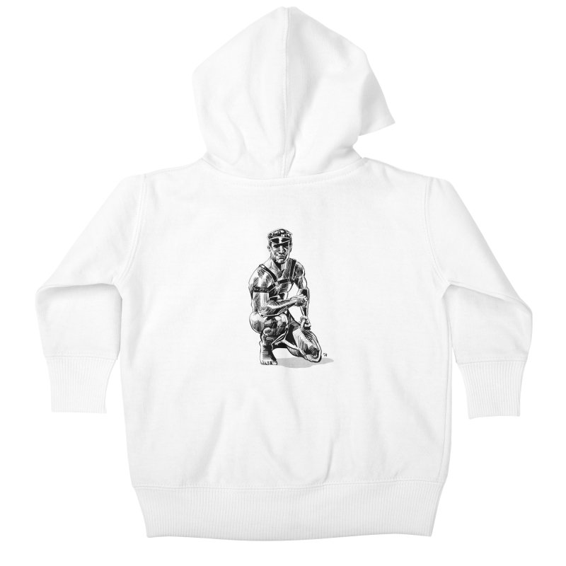 DrawingPride No.8: Leather Kids Baby Zip-Up Hoody by michaeljhildebrand's Artist Shop