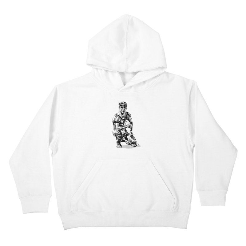 DrawingPride No.8: Leather Kids Pullover Hoody by Michael J Hildebrand's Artist Shop