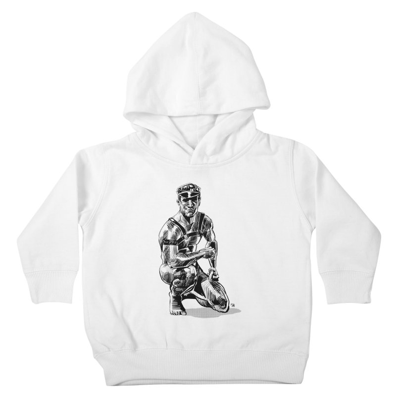 DrawingPride No.8: Leather Kids Toddler Pullover Hoody by Michael J Hildebrand's Artist Shop