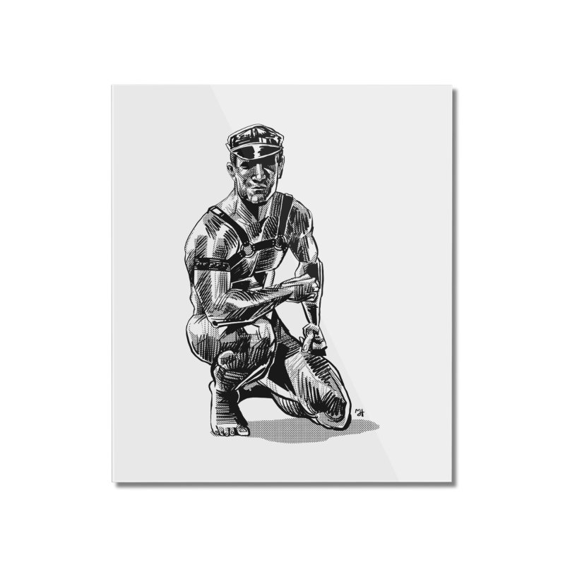 DrawingPride No.8: Leather Home Mounted Acrylic Print by michaeljhildebrand's Artist Shop