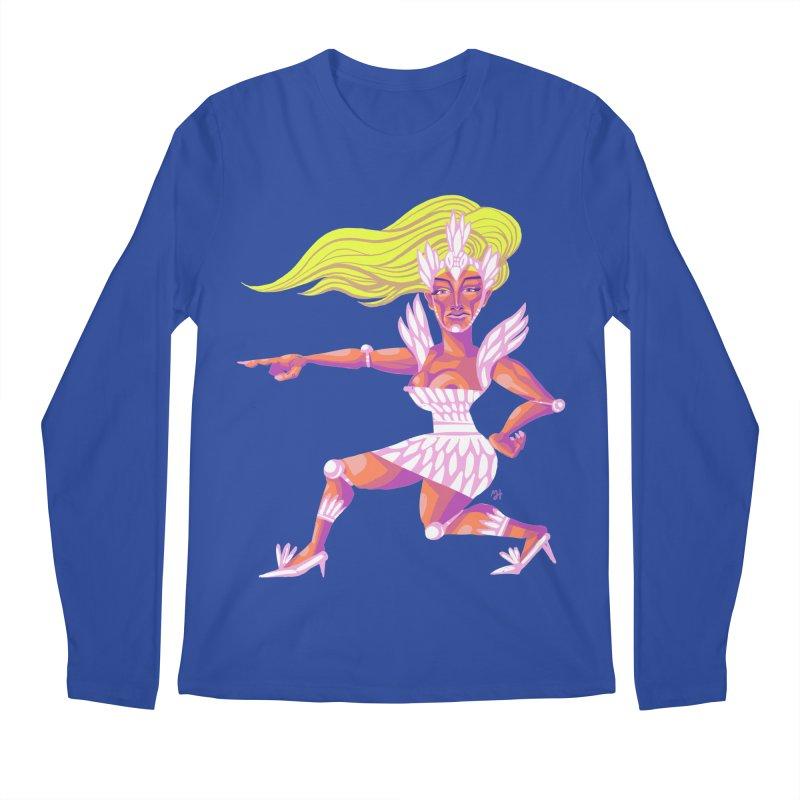 Drawing Pride No.9: Drag Men's Regular Longsleeve T-Shirt by michaeljhildebrand's Artist Shop