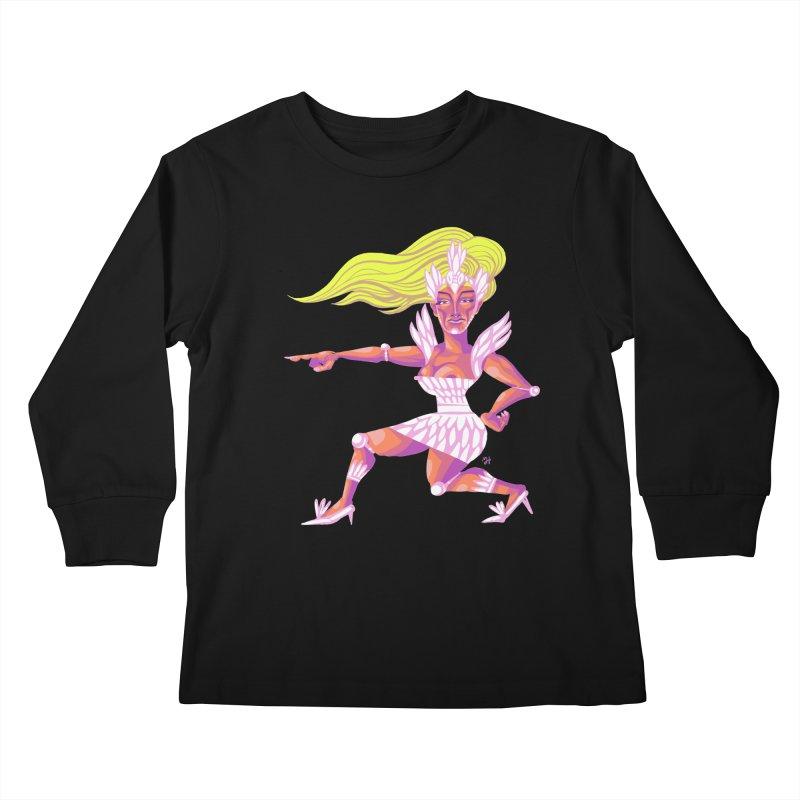 Drawing Pride No.9: Drag Kids Longsleeve T-Shirt by michaeljhildebrand's Artist Shop
