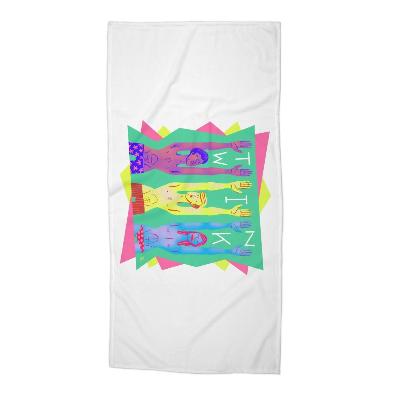 DrawingPride No.11: Twink Accessories Beach Towel by michaeljhildebrand's Artist Shop
