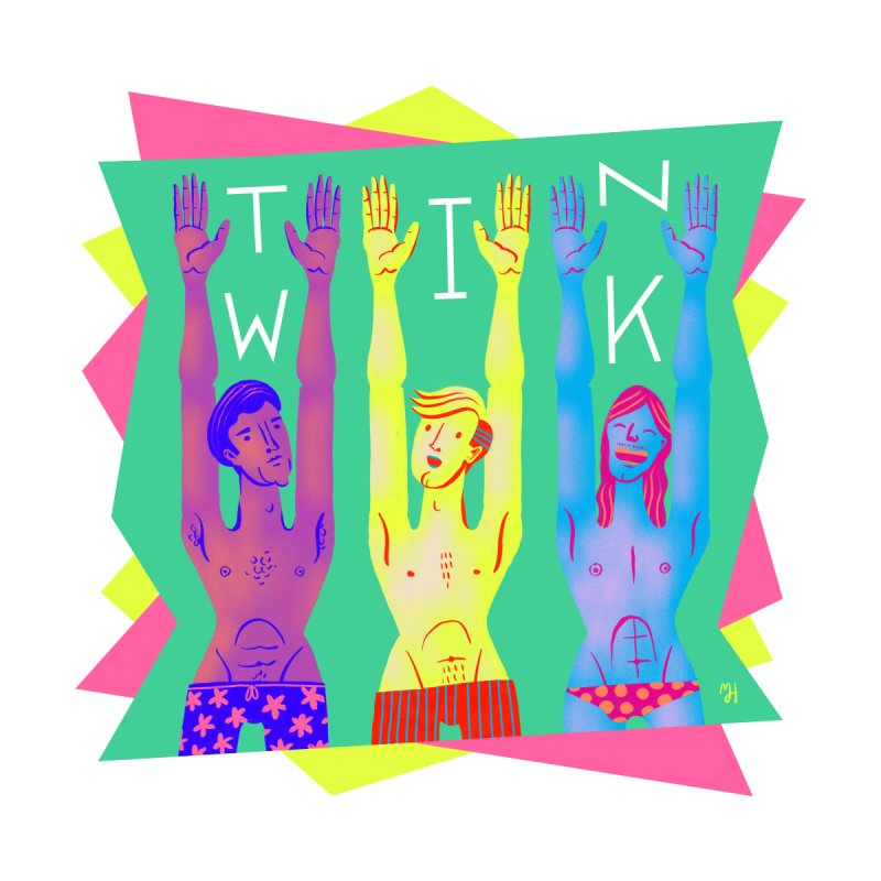 DrawingPride No.11: Twink   by Michael J Hildebrand's Artist Shop