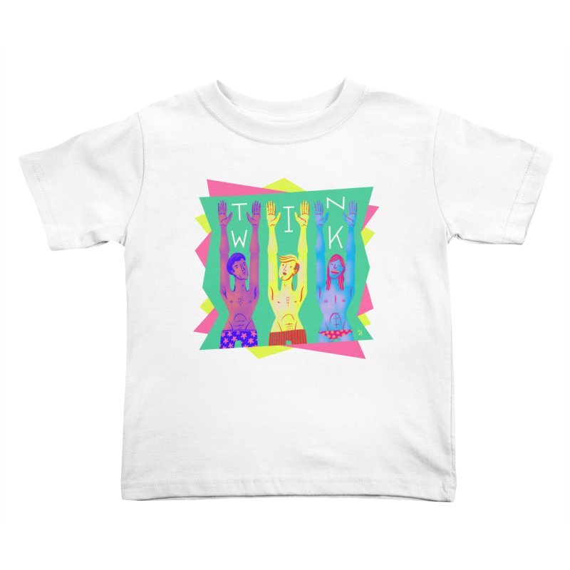 DrawingPride No.11: Twink Kids Toddler T-Shirt by Michael J Hildebrand's Artist Shop