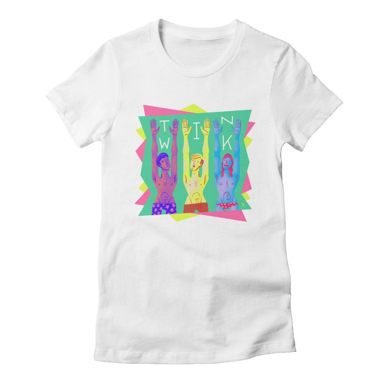 DrawingPride No.11: Twink Women's Fitted T-Shirt by Michael J Hildebrand's Artist Shop
