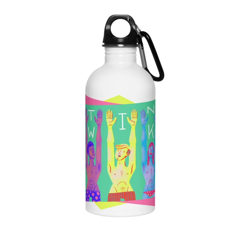 DrawingPride No.11: Twink Accessories Water Bottle by Michael J Hildebrand's Artist Shop