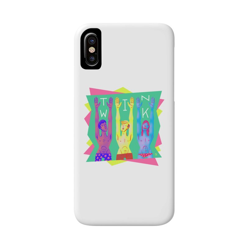 DrawingPride No.11: Twink Accessories Phone Case by Michael J Hildebrand's Artist Shop