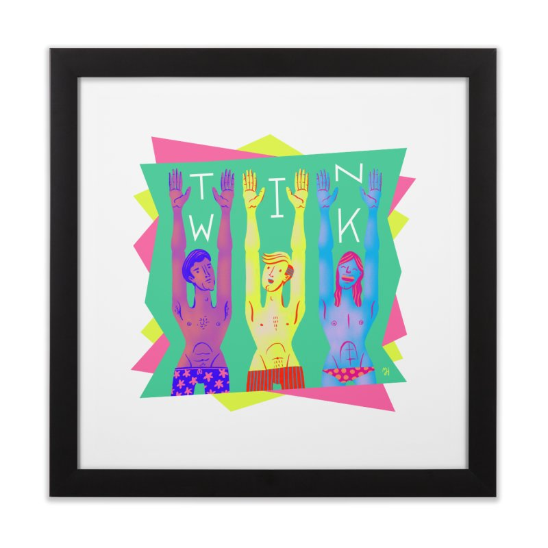 DrawingPride No.11: Twink Home Framed Fine Art Print by michaeljhildebrand's Artist Shop