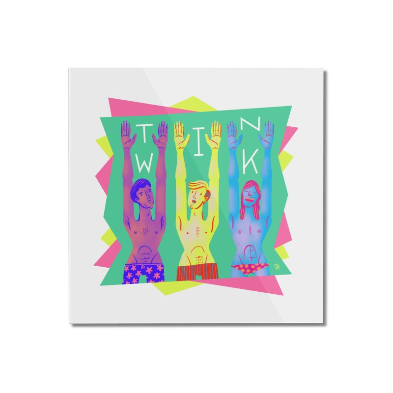 DrawingPride No.11: Twink Home Mounted Acrylic Print by michaeljhildebrand's Artist Shop