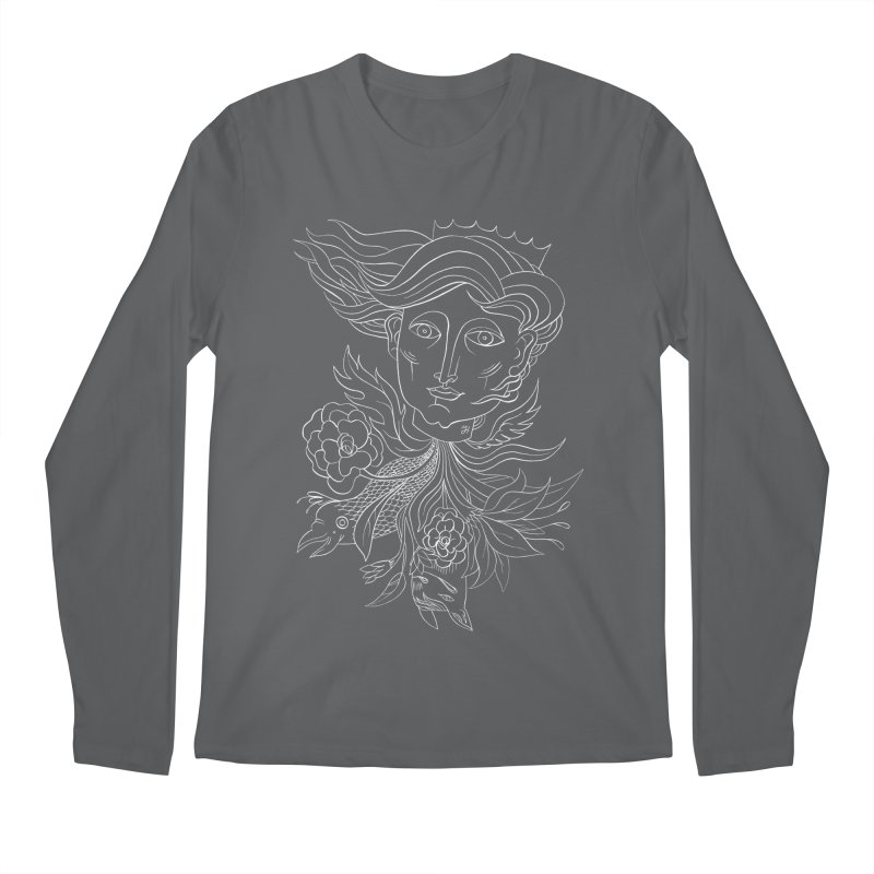 Off With Her Head Men's Regular Longsleeve T-Shirt by michaeljhildebrand's Artist Shop