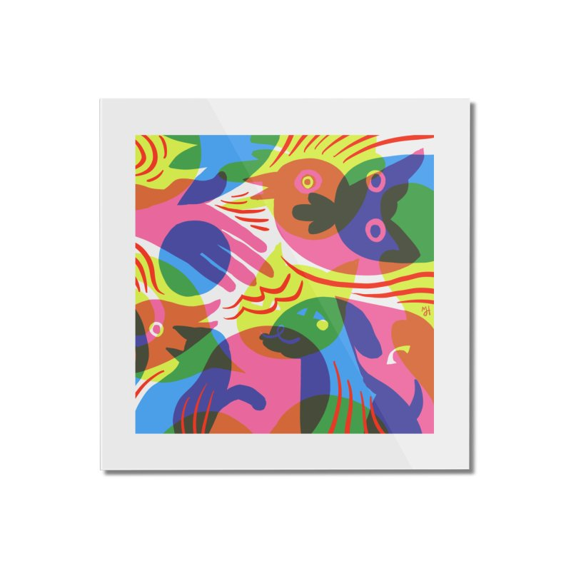 Rainbow (v1) Home Mounted Acrylic Print by Michael J Hildebrand's Artist Shop