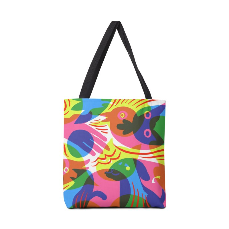 Rainbow (v1) Accessories Tote Bag Bag by Michael J Hildebrand's Artist Shop
