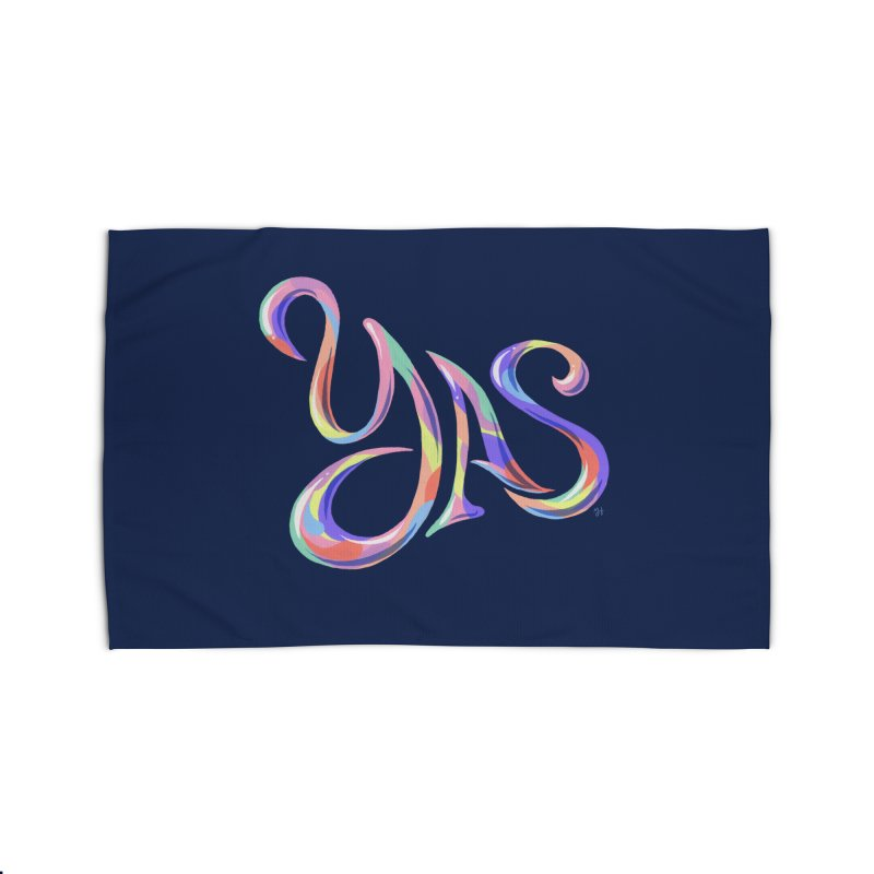 YAS! Home Rug by Michael J Hildebrand's Artist Shop