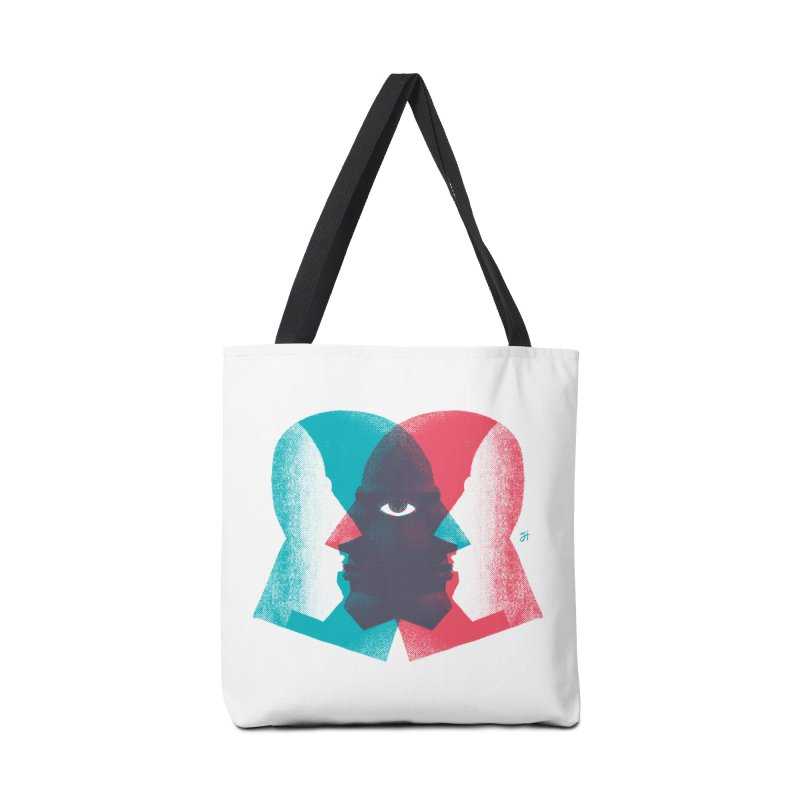 Meeting in the Middle Accessories Tote Bag Bag by Michael J Hildebrand's Artist Shop
