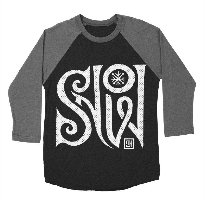 Snow Men's Baseball Triblend Longsleeve T-Shirt by Michael J Hildebrand's Artist Shop