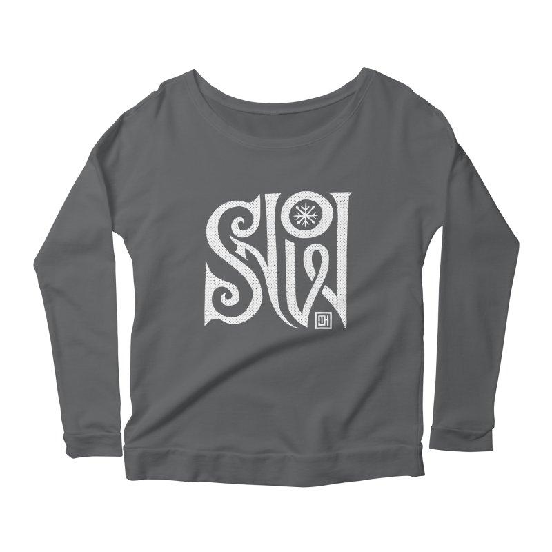 Snow Women's Scoop Neck Longsleeve T-Shirt by Michael J Hildebrand's Artist Shop